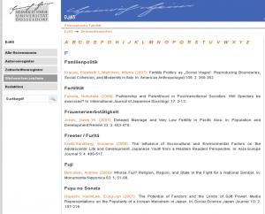 Alphabetisches Stichwörterverzeichnis