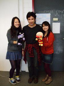 Horie-San mit Yuka-San und Yasuko-San