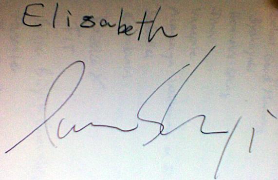Autogramm von Iwai Shunji