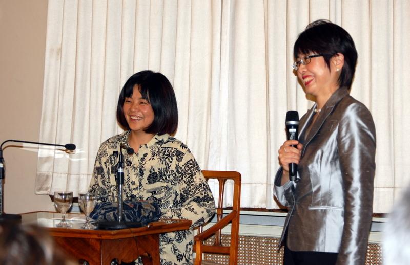 Yoko Tawada und Prof. Michiko Mae