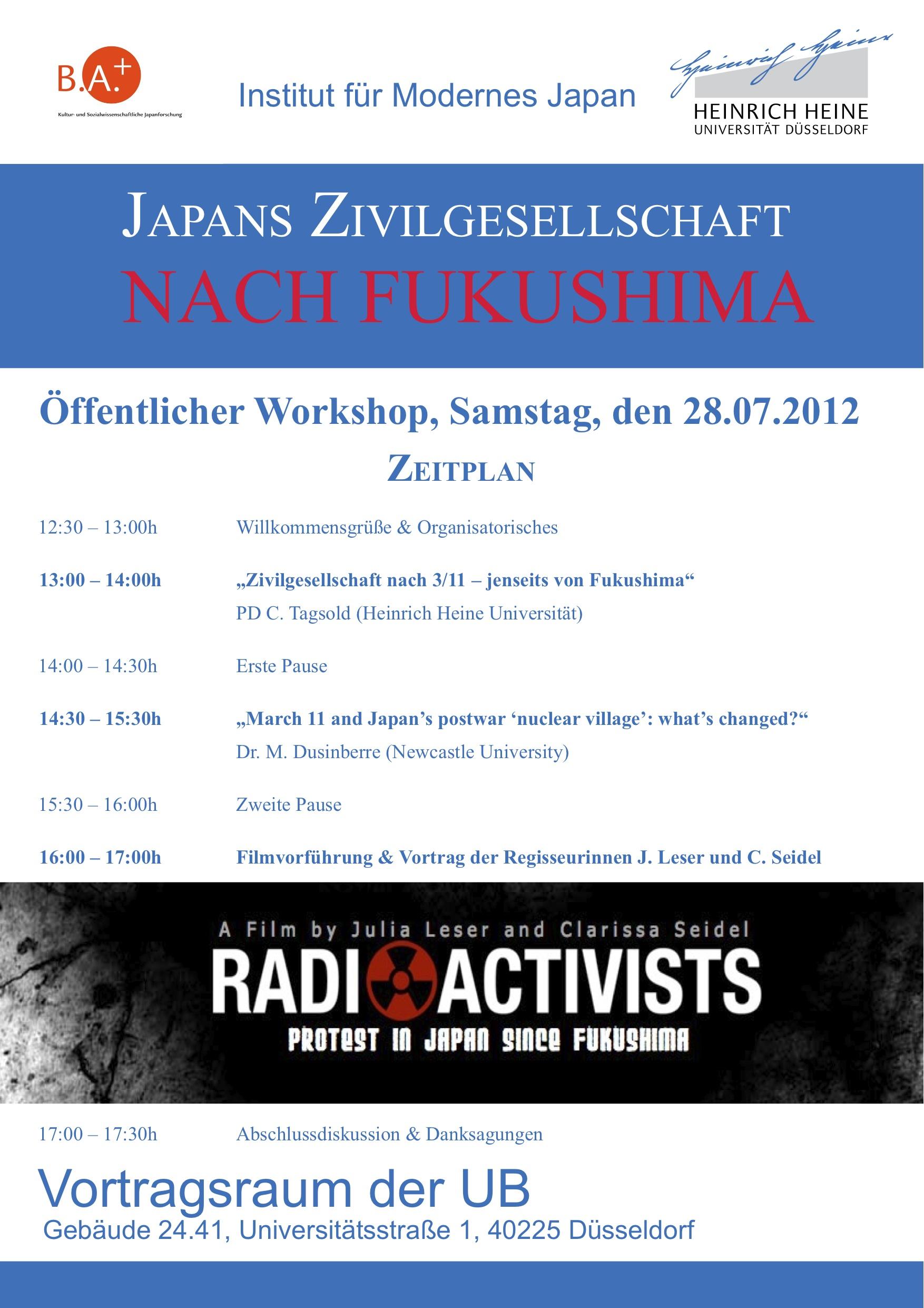 Dieser Beitrag wurde unter Bachelor Plus, Veranstaltungen (Düsseldorf)  abgelegt am 19. Juli 2012 von Peter Bernardi.