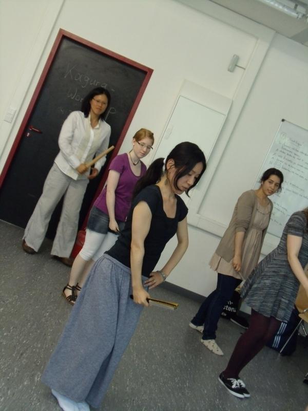 Der gemeinsame Kagura-Tanz