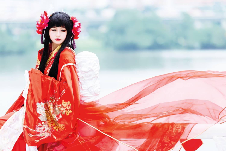 Christy Bell Goh; Charakter: Soah; Serie: Bride of the Water God; Fotograf: Jonathan Goh