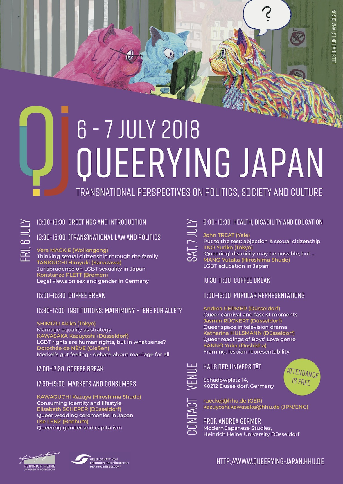 Poster Queerying Japan