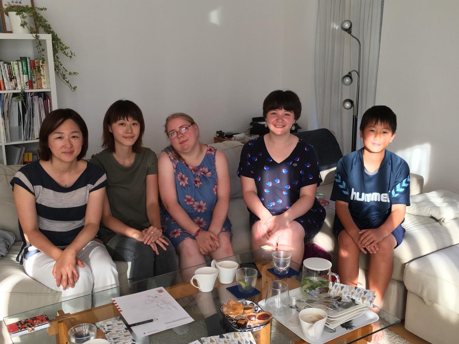 Madeleine&Janine - Familie Hasegawa