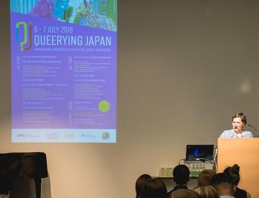 Andrea Germer bei der Eröffnung der Konferenz