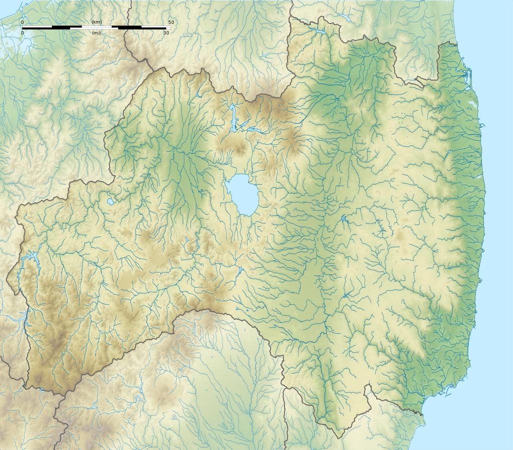 Die Präfektur Fukushima. Bild:
