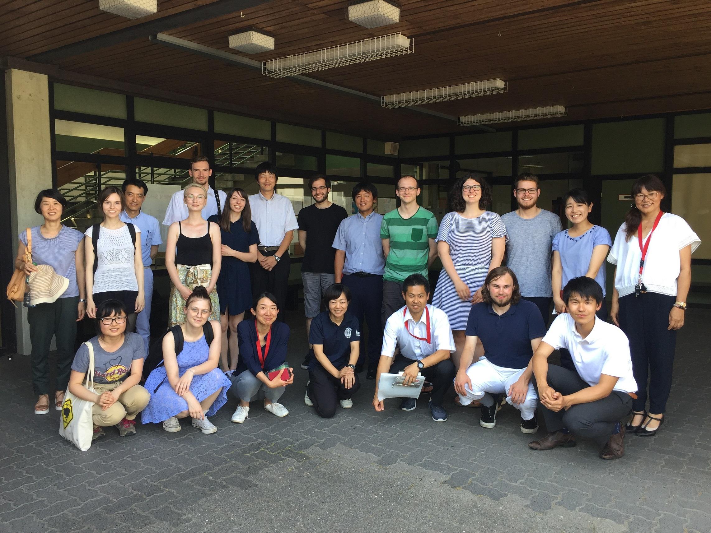Treffen mit japanischer Schule (2)